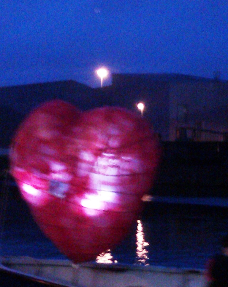 Floating Heart Lantern