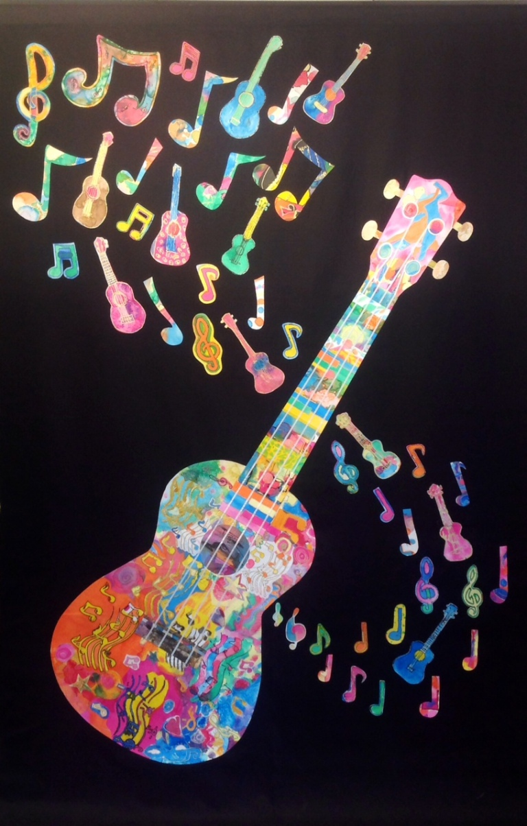 Wall hanging for A Grand Northern Ukulele Festival