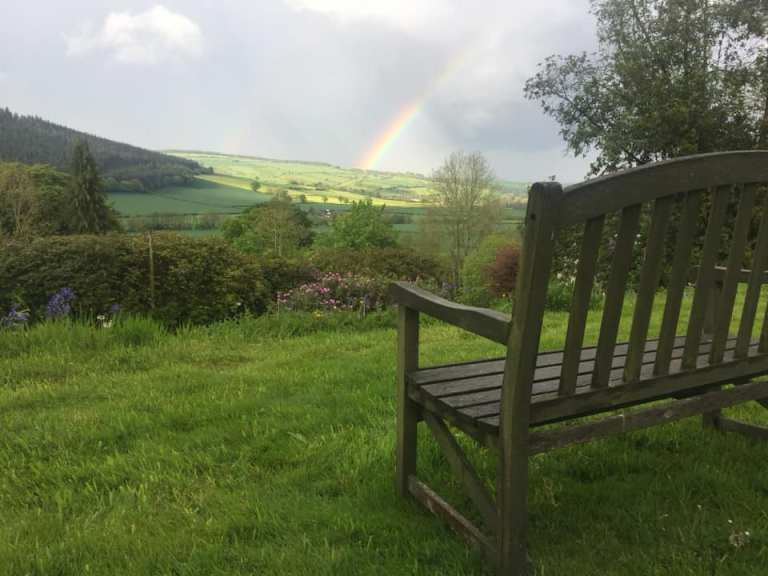 Liz Patch - Shropshire where she went on writers retreat