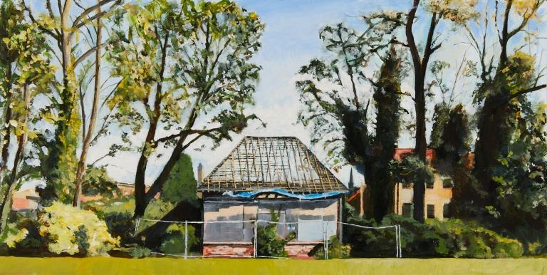 19 Thursday 16th April - Gentleman's shelter, Thornes Park