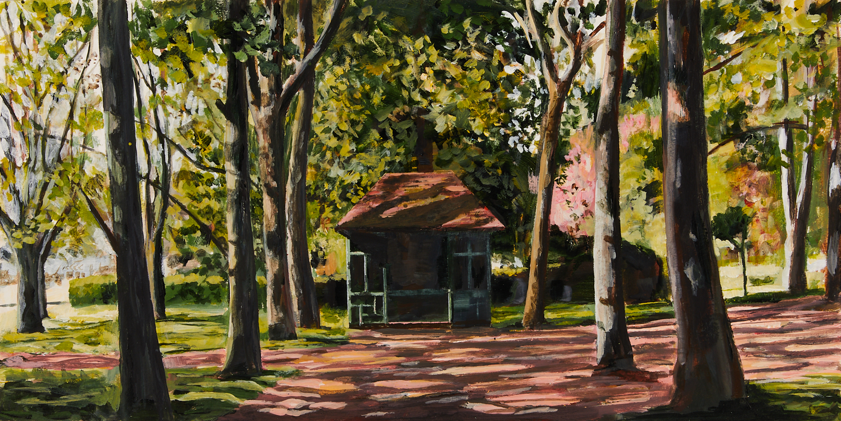30 Wednesday 6th May - Summer House in Clarence Park