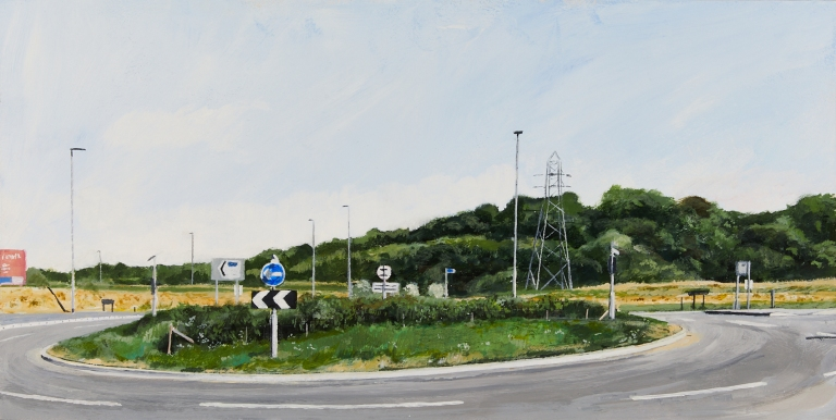 33 Tuesday 12th May - Roundabout on Neil Fox Way