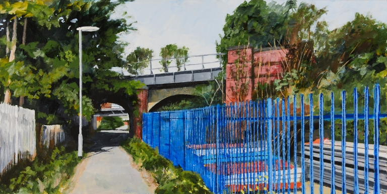 35 Monday 18th May - Footpath linking Waldorf Way to Russell Street under two railway bridges